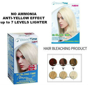 max blond hair bleaching colour kit product professional