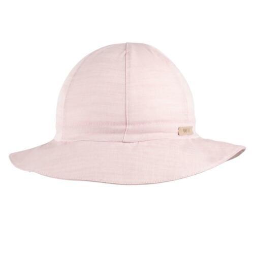 pure pure Kinder Sommer-Hut mit UV-Schutz reine Bio-Baumwolle