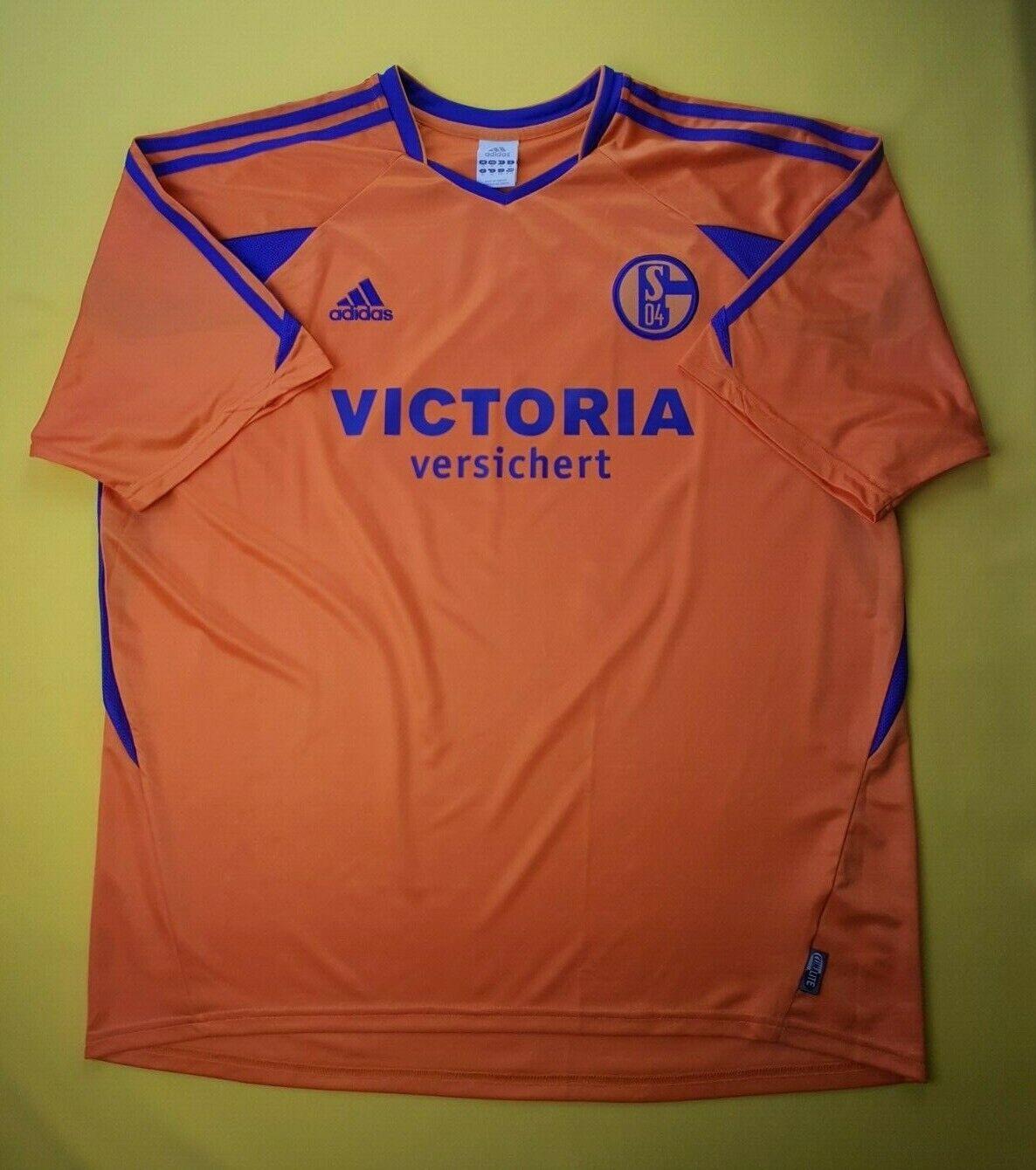 9d0fa9a7d57 5 5 FC Schalke 04 jersey XL 2003 2004 away shirt soccer football Adidas ig93