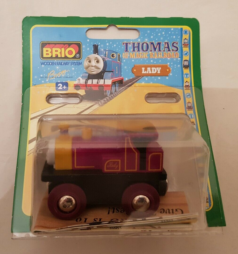 Thomas The Tank Engine & Friends BRIO LADY WOOD TRAIN WOODEN NEW IN BOX