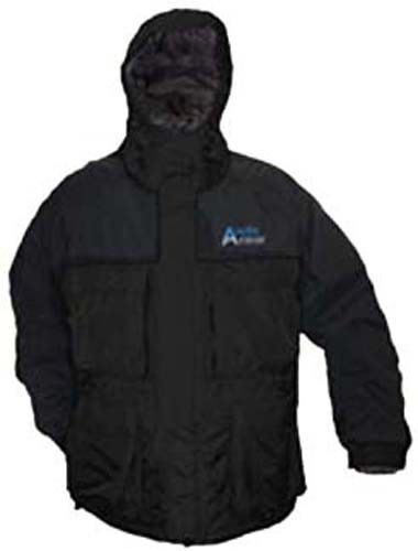 Arctic Armor Flotante De Clima Extremo Hielo Pesca Motos de nieve Chaqueta Negro 3x