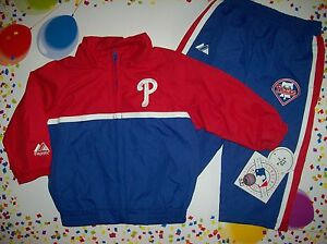 cb165d37124e Philadelphia Phillies Outfit Windsuit Boys 2pc Set 12 Mos Team ...