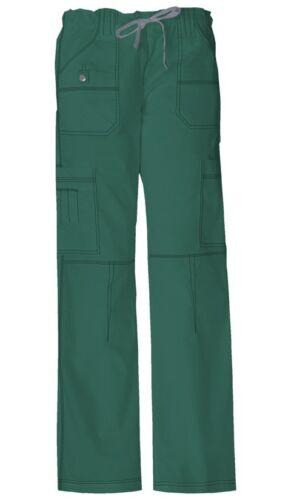 Fit Dickies Scrubs Petite Drawstring Cargo Pant 857455P Hunter Green Dickies Jr