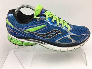 Detalles de Saucony Guide 7 AzulVerde Athletic Tenis Zapatos Para Correr Para hombres Talla 9 ver título original