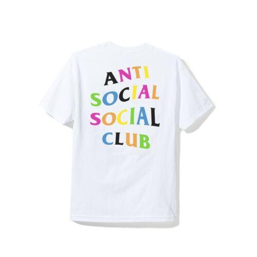 Anti Social Social Club Rainy Dayz Tee White T-Shirt ASSC Size S-L W//Receipt