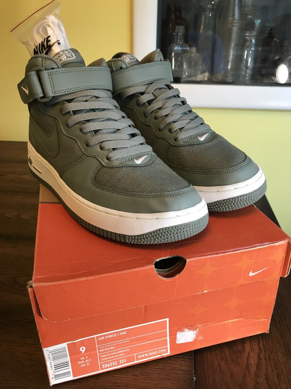 2005 Nike Air Force One Mid 306352 331