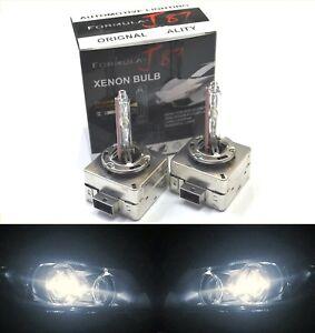 HID Xenon D1S Two Bulbs Head Light 5000K White Bi-Xenon Replace Low High Beam