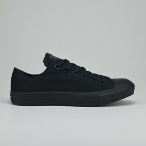 Details zu Converse All Star Ox Trainers Shoes Pumps Black New UK sizes 3,4,5,6,7,8,9,10,11