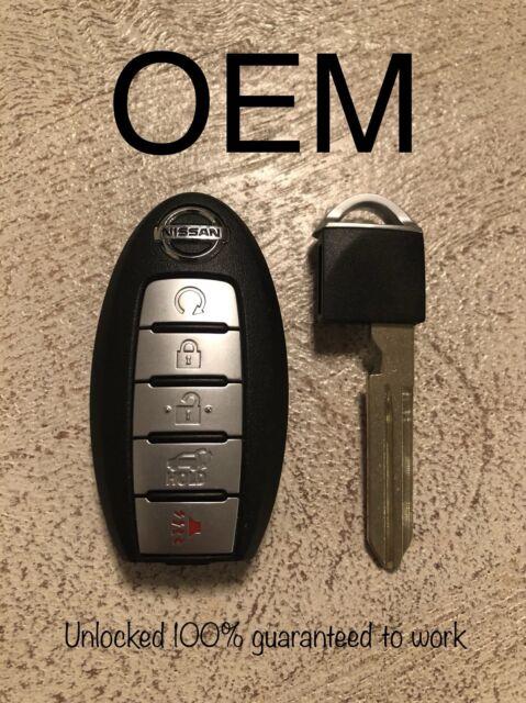 OEM Nissan Smart Key KR5S180144014 Keyless Entry Remote 5 Button Fob S180144308