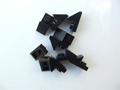 Parts /& Pieces 5 x Lego Brown ROOF TILE 1X2//45 degrees 4211199
