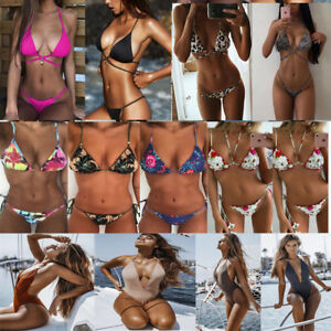 2018-New-Sexy-Women-Bikini-Set-Push-up-Padded-Bra-Swimsuit-Swimwear-11-Styles