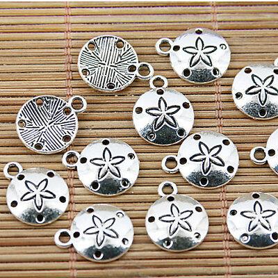 60PCS Tibetan sivler female symbol charms FC9112