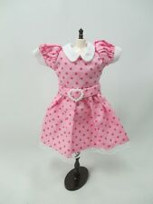 Blythe Outfit Handcrafted polka dots dress basaak doll # 900-7