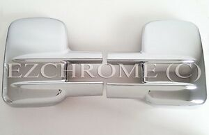 Bubbling-Chrome-Mirror-Covers-for-00-15-Chevy-Silverado-GMC-Sierra-2500-3500-HD