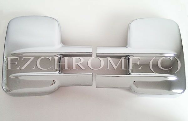 Bubbling! Chrome Mirror Covers for 00-15 Chevy Silverado GMC Sierra 2500/3500 HD