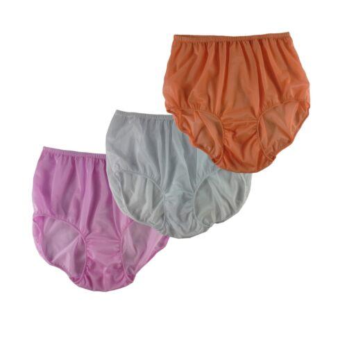 Wholesale 3Pcs Lot A140 Mixed Multi-Color Women Briefs Panties Men Nylon Knicker