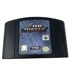 WWF-No-Mercy-N64-Nintendo-64-2000-Game-Cartridge-Cleaned-and-Tested