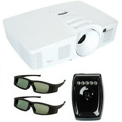 Optoma HD26 Full 1080p 3D DLP Projector Bundle Replaces HD25e