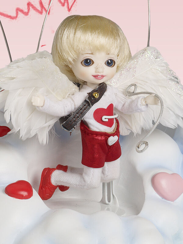 Bellissimo My Little Cupid Hamish doll NRFB resin Wilde Amelia Thimble LE 75