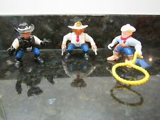 Imaginext Fisher Price Great Adventures Western Cowboy rope ranch gun fighter
