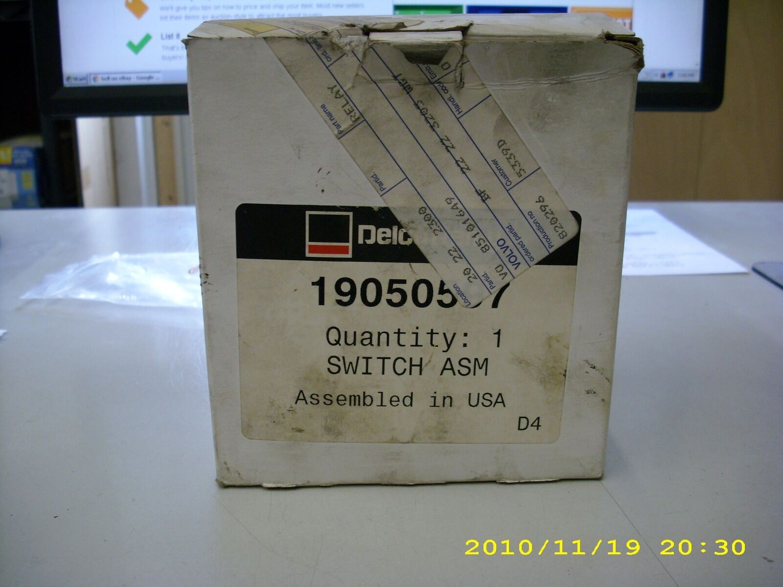 19050597 Delco Remy Relay Switch Assembly 12 Volt Ebay Emb Current Norton Secured Powered By Verisign