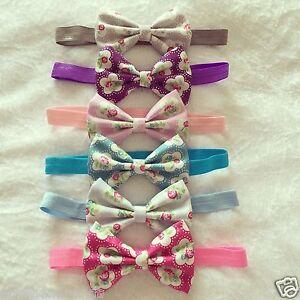 Vintage-Fabric-Headband-Baby-Girl-Headbands-Cath-Kidston-Newborn-Toddler-Lot