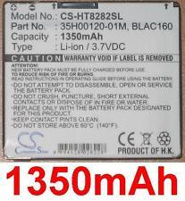 Batterie 1350mAh type 35H00120-01M BLAC160 Pour HTC Touch HD T8282