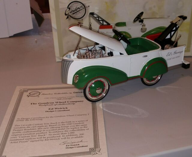 Napa Auto Parts 1940 Gendron Tow Truck Pedal Car Die Cast Bank Priority For Sale Online Ebay