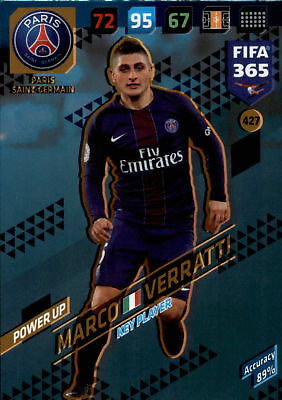 Fifa 365 cards 2018-427-marco verratti-Power Up-key players