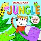 Make and Play: Jungle by Angela Muss (Board book, 2016)