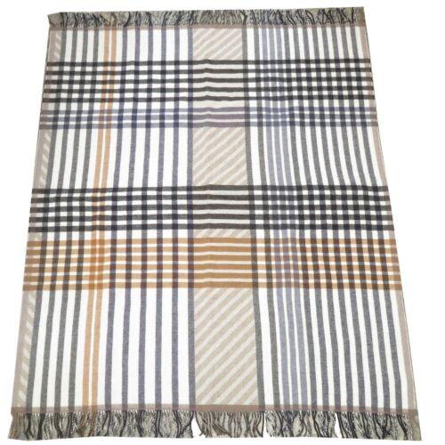 AUTHENTIC HERMES blanket Scarf Multicolore wool 01