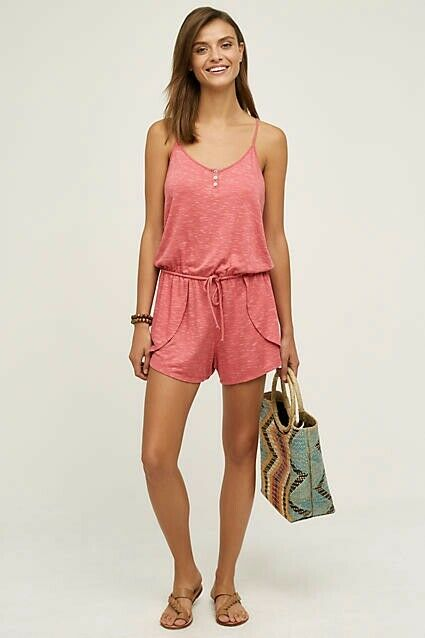 NWT  78 ANTHROPOLOGIE TERRY LOUNGE ROMPER BY SATURDAY SUNDAY PINK
