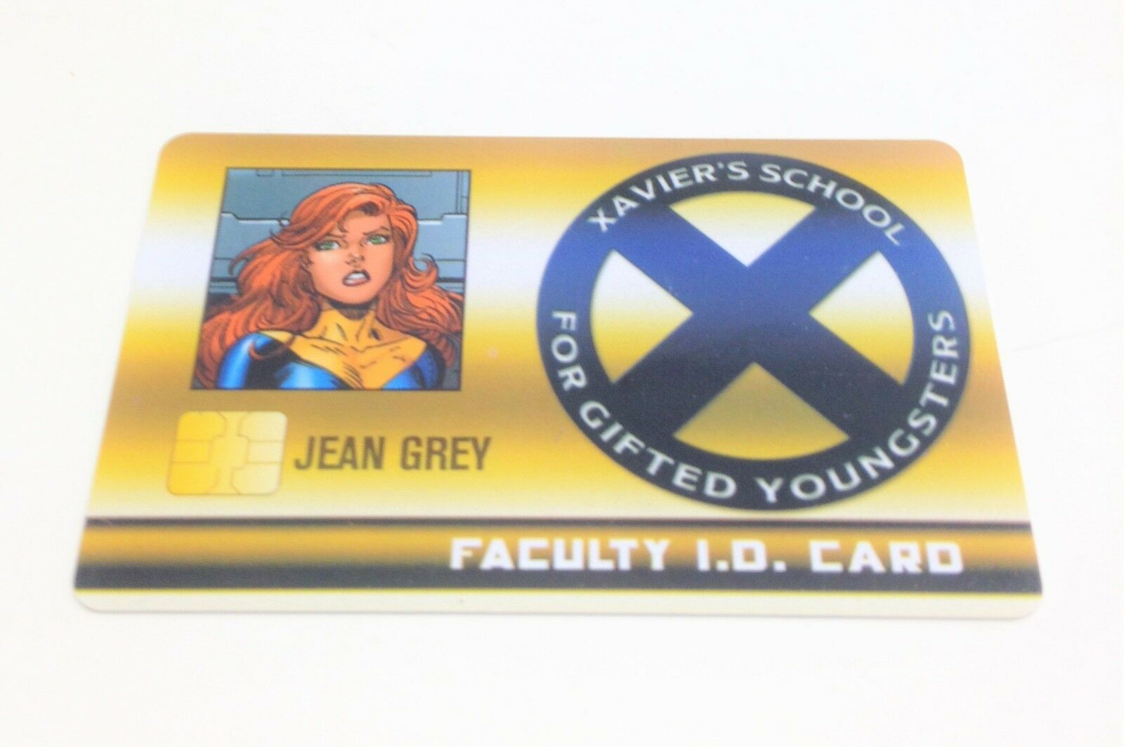 Heroclix X-Men Xavier's School set Jean Grey  XID-020 Rare Faculty ID card