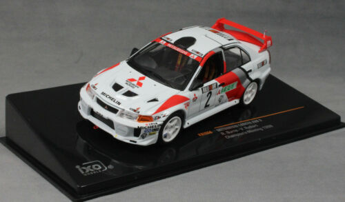 IXO Mitsubishi Lancer Evo V Champions Meeting 1998 Richard Burns KB1066 143 NEW