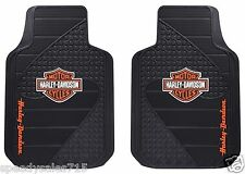 PAIR Plasticolor Universal Fit Harley B&S Factory Floor Mats New Free Shipping