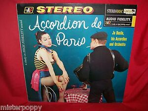 JO-BASILE-ACCORDION-ORCHESTRA-Accordion-de-Paris-LP-ITALY-1983-MINT-Sexy-Nude