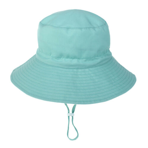 Baby Boy Girl Bucket Sun Hat Summer Beach Toddler Kids Bush Childs Cotton Cap