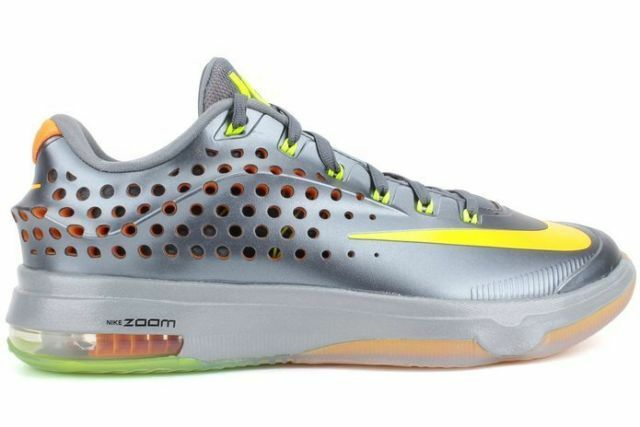 Nike männer kd vii elite bl grpht grpht grpht / vlt / brght ctrs - gry basketballschuh 13 nib f97b3f
