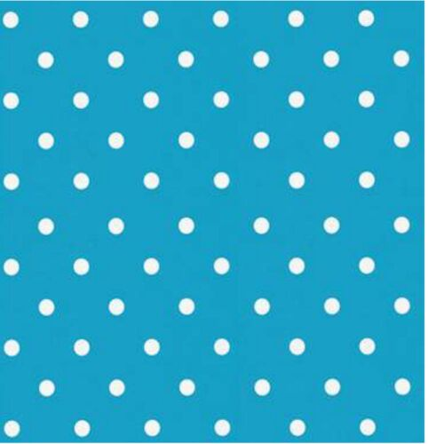 Klebefolie Möbelfolie Punkte blau aqua Selbstklebefolie Dots 45 cm x 200 cm