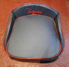 The Ultimate Ferguson Tractor Seat Embroidered Old Type In Grey Piped Red