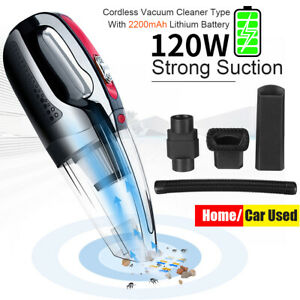 Rechargeable Vacuum Cleaner Wet & Dry Car Home Handheld Cordless Dust  @#* yy