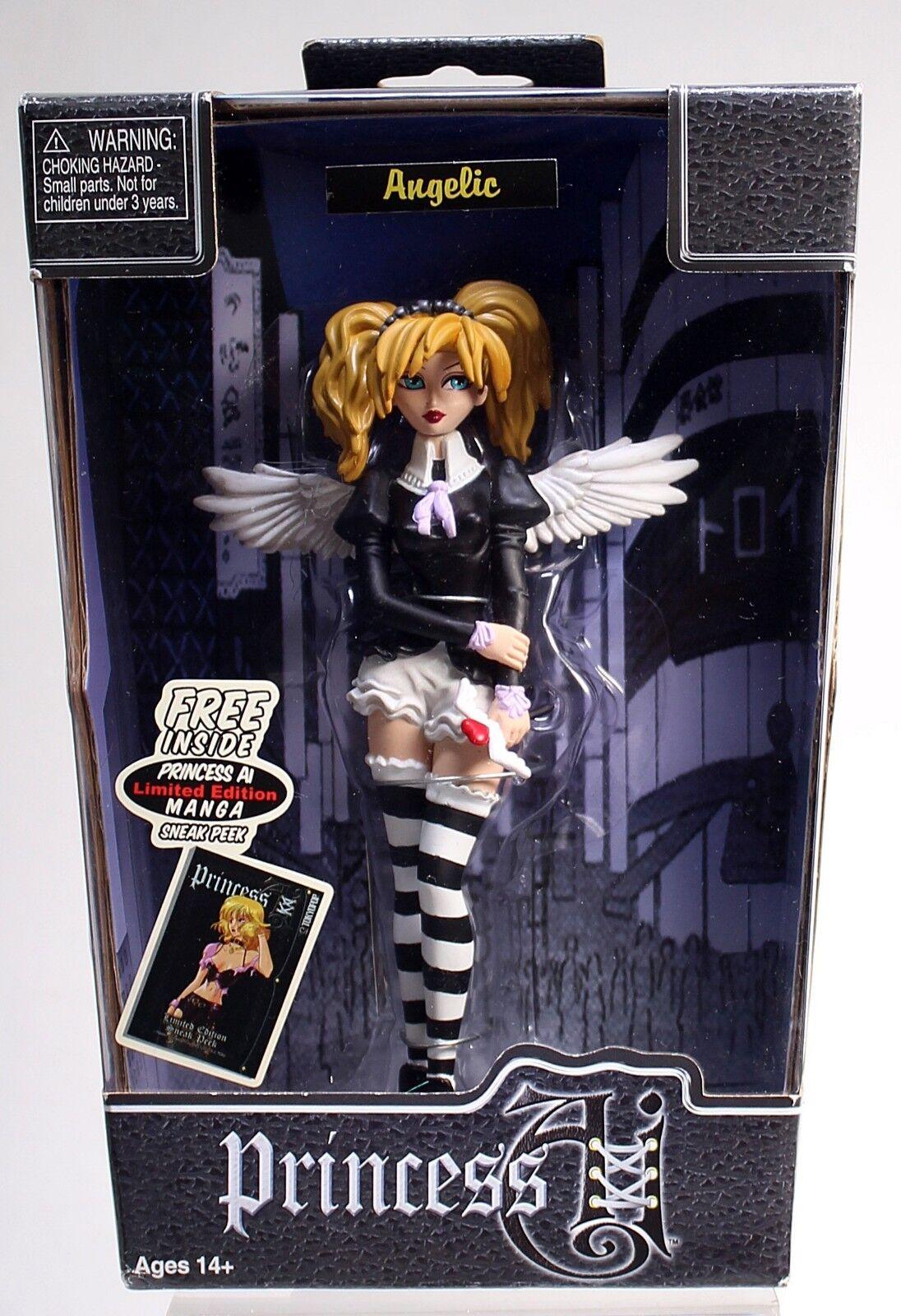 PRINCESS AI ANGELIC TOKYOPOP Manga 8  Girl DOLL FIGURE NIB 2005 Bleeding Edge