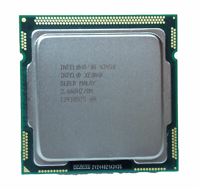Intel SLBLD Xeon X3450 2.66GHz 4-Core 2.5GT//s DMI 8MB LGA1156 Processor