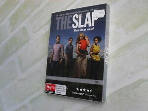 THE SLAP - WHOSE SIDE ARE YOU ON - REGION 4 PAL - 3 DISC DVD SET - NEW SEALED