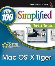 Mac OS X Tiger: Top 100 Simplified Tips and Tricks (Top 100 Simplified Tips & Tr