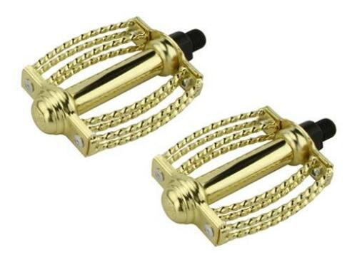 ORIGINAL bike Double Square Round Twisted Pedals lowrider cruiser  bicycle