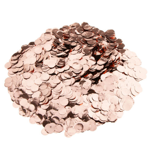 10g//30g//50g Metalic Foil Sparkling Round Table Confetti Scatter Party Decor DIY