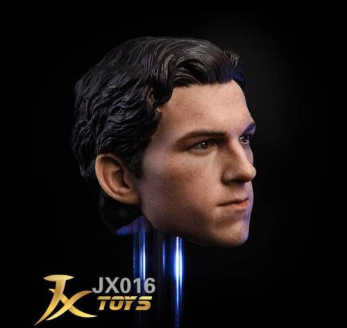 1//6 scale Tom Holland Head Sculpt for Spider-Man The Avengers Homecoming