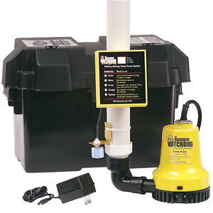 basement watchdog bwe emergency backup sump pump 1000