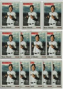 2019-Topps-Heritage-High-Number-Yusei-Kikuchi-12-Card-Rookie-Lot-526-RC